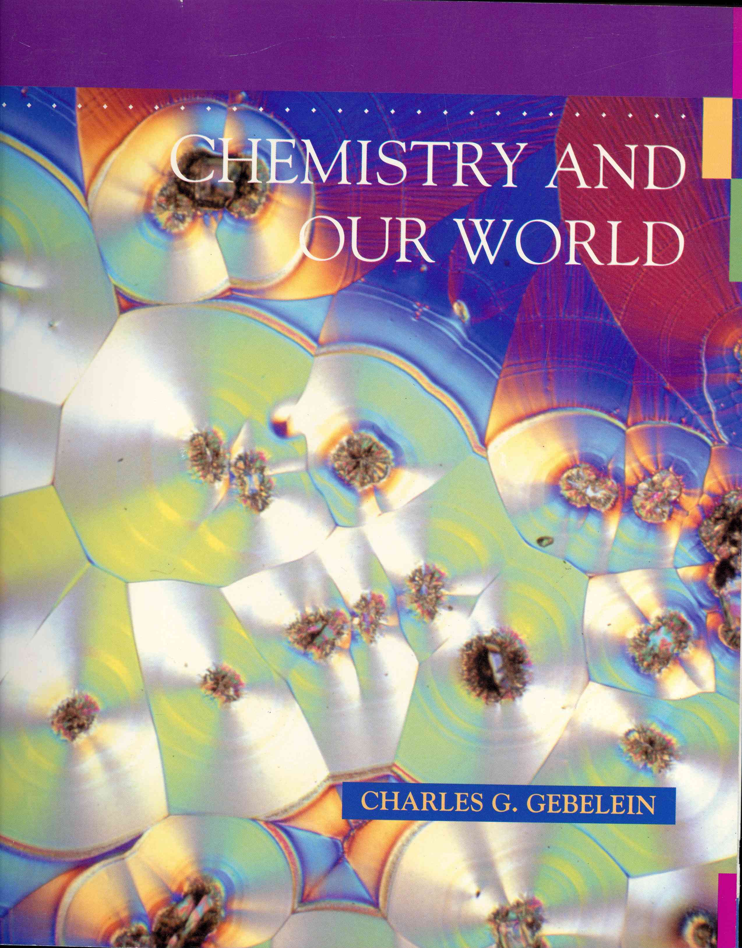 Обложка Chemistry and our World