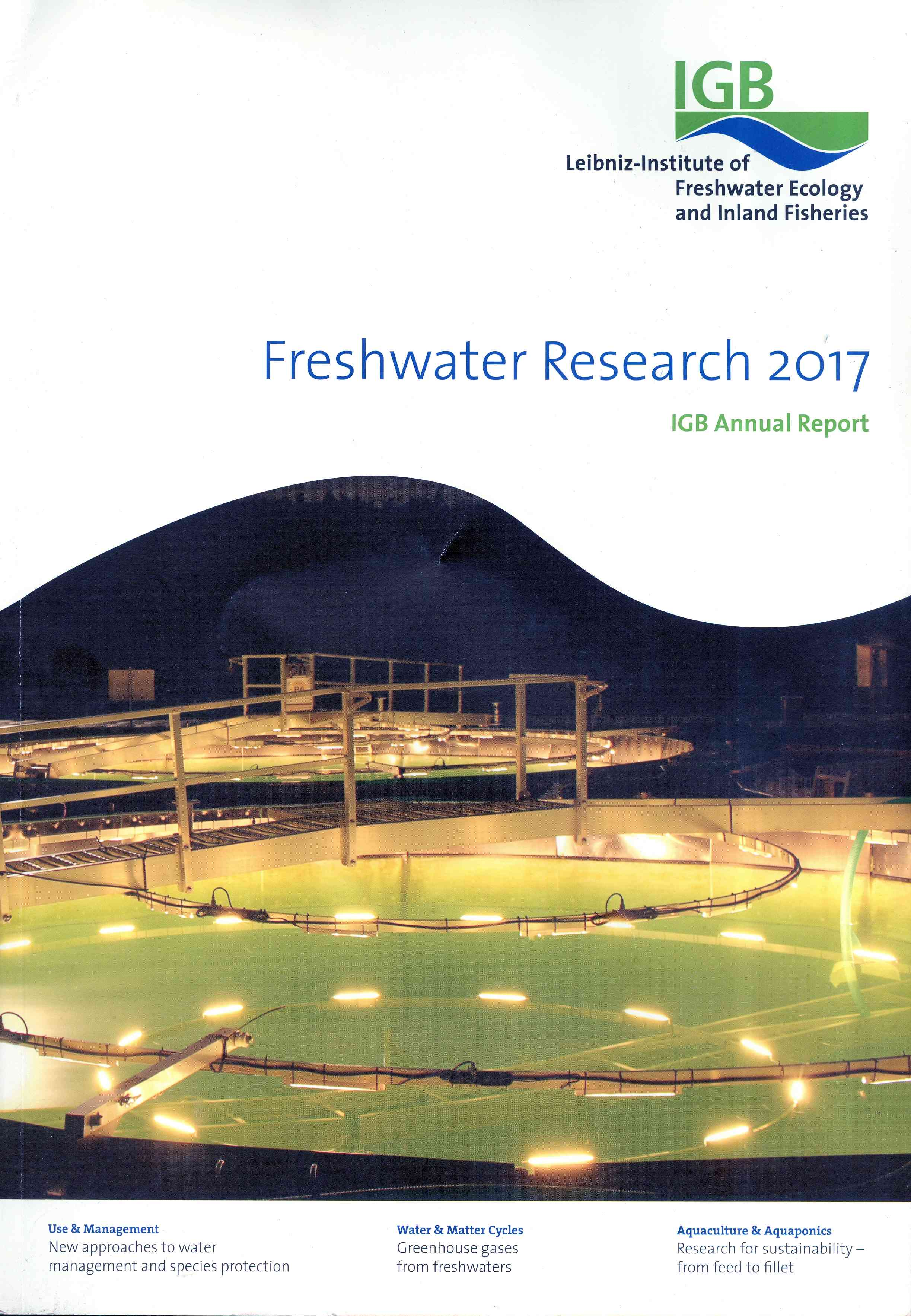 Обложка Freshwater Research 2017