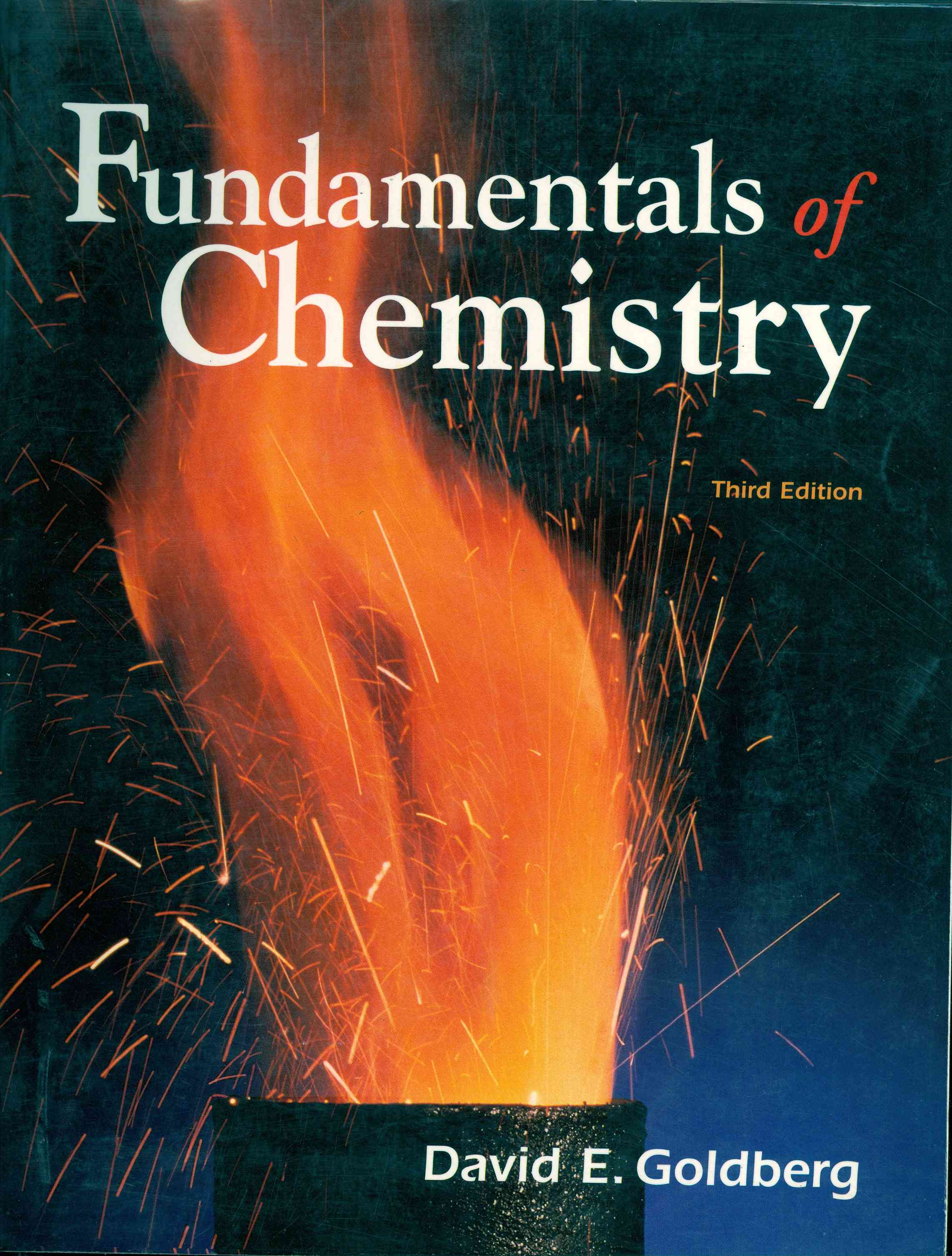 Обложка Fundamentals of Chemistry