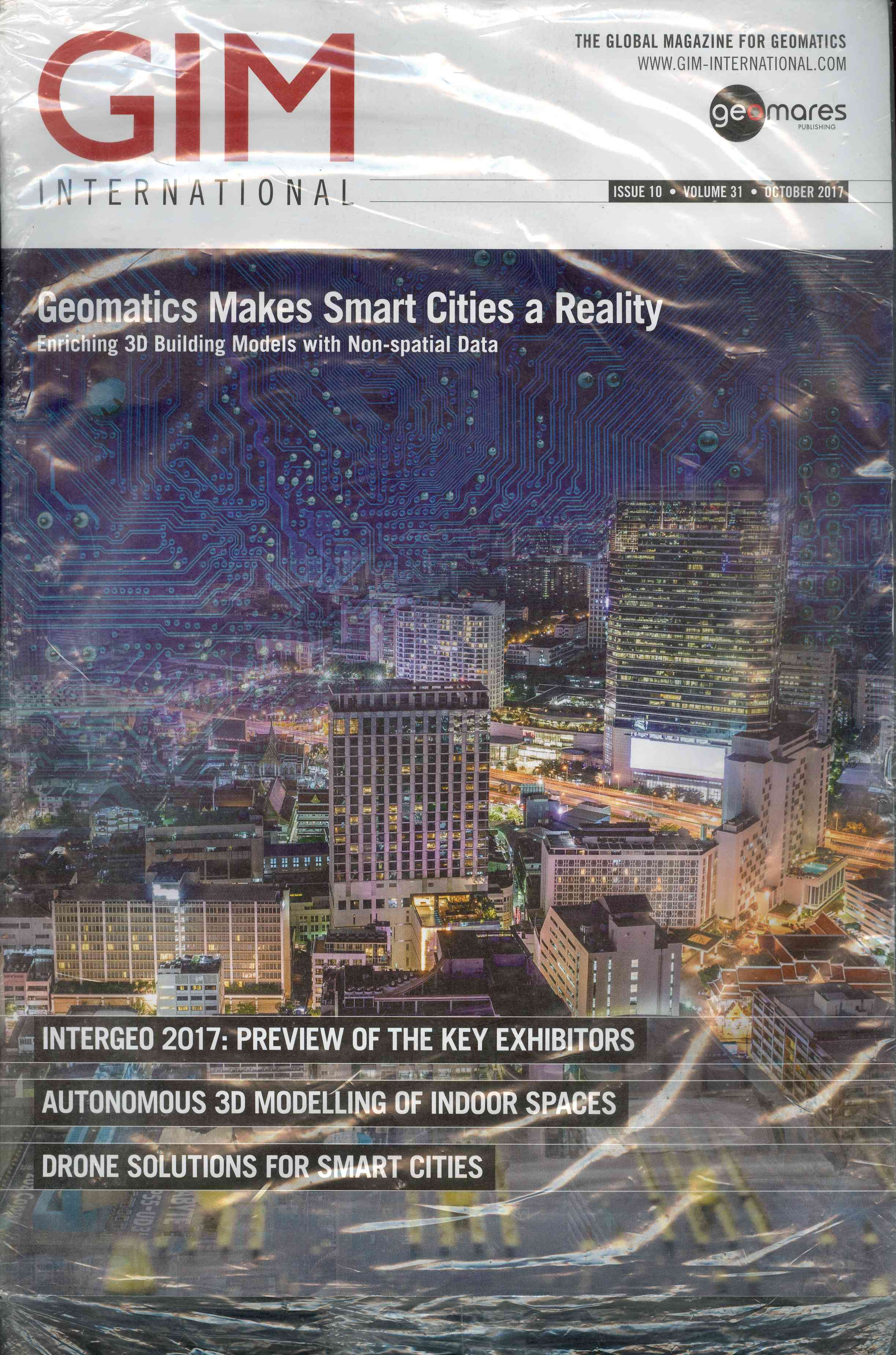 Обложка Geomatics Makes Smart Cities a Reality 2017