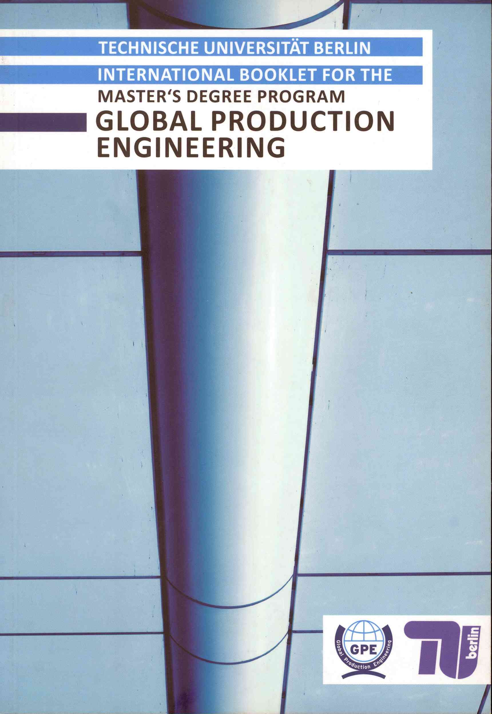Обложка Global Production Engineering