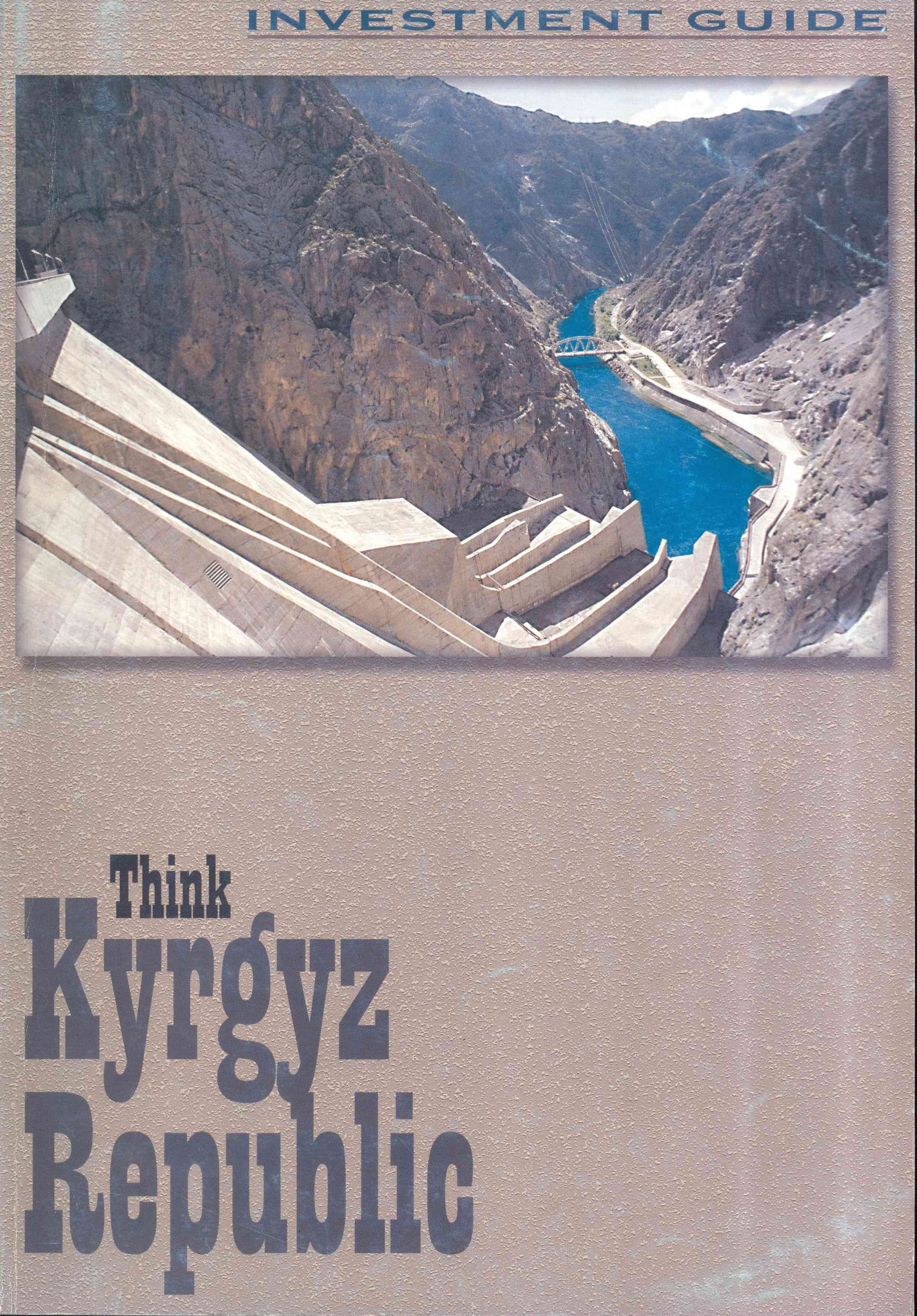Обложка Think Kyrgyz Republic