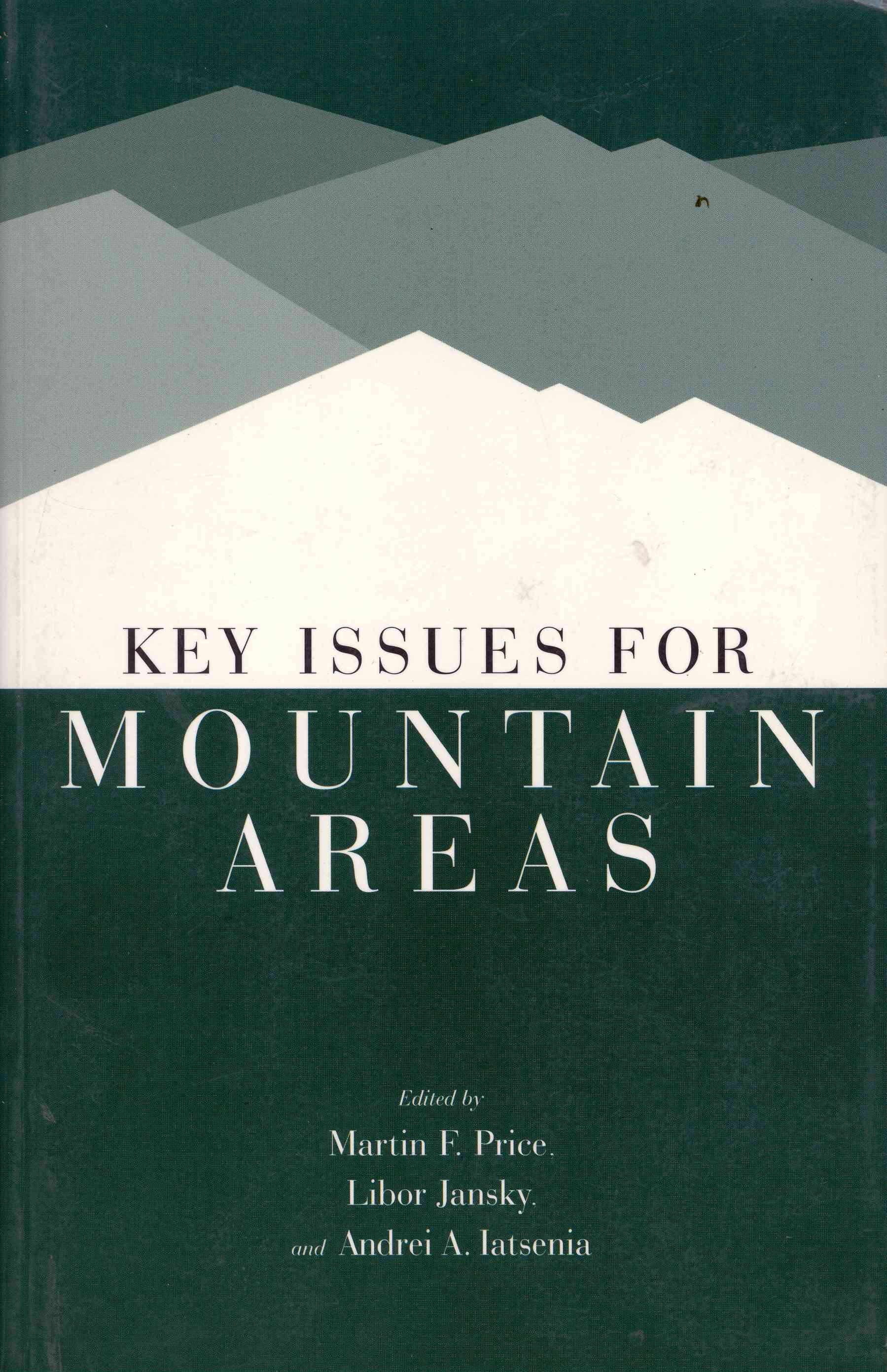 Обложка  Key Issues For Mountain Areas