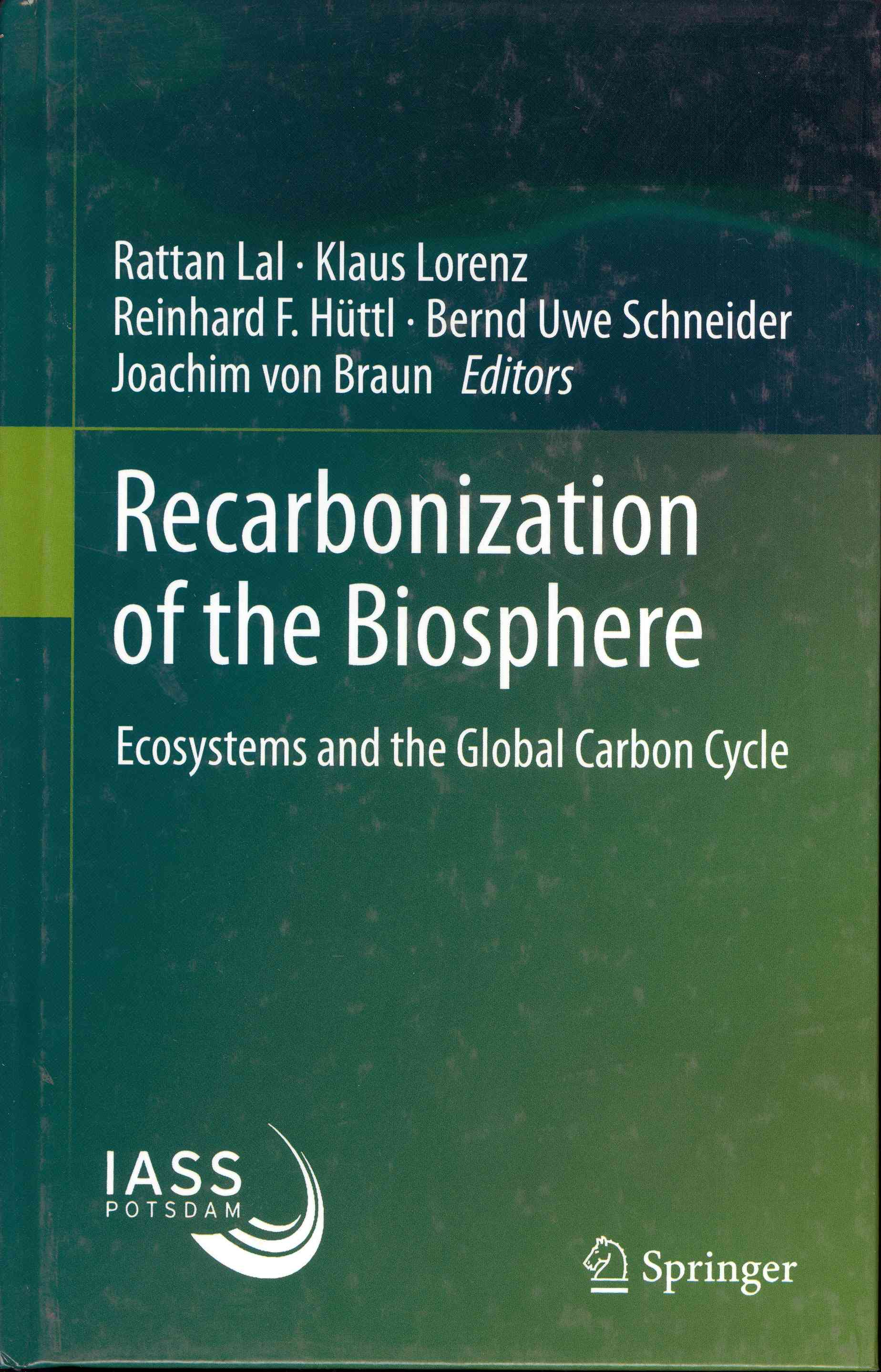 Обложка Recarbonization of the Biosphere