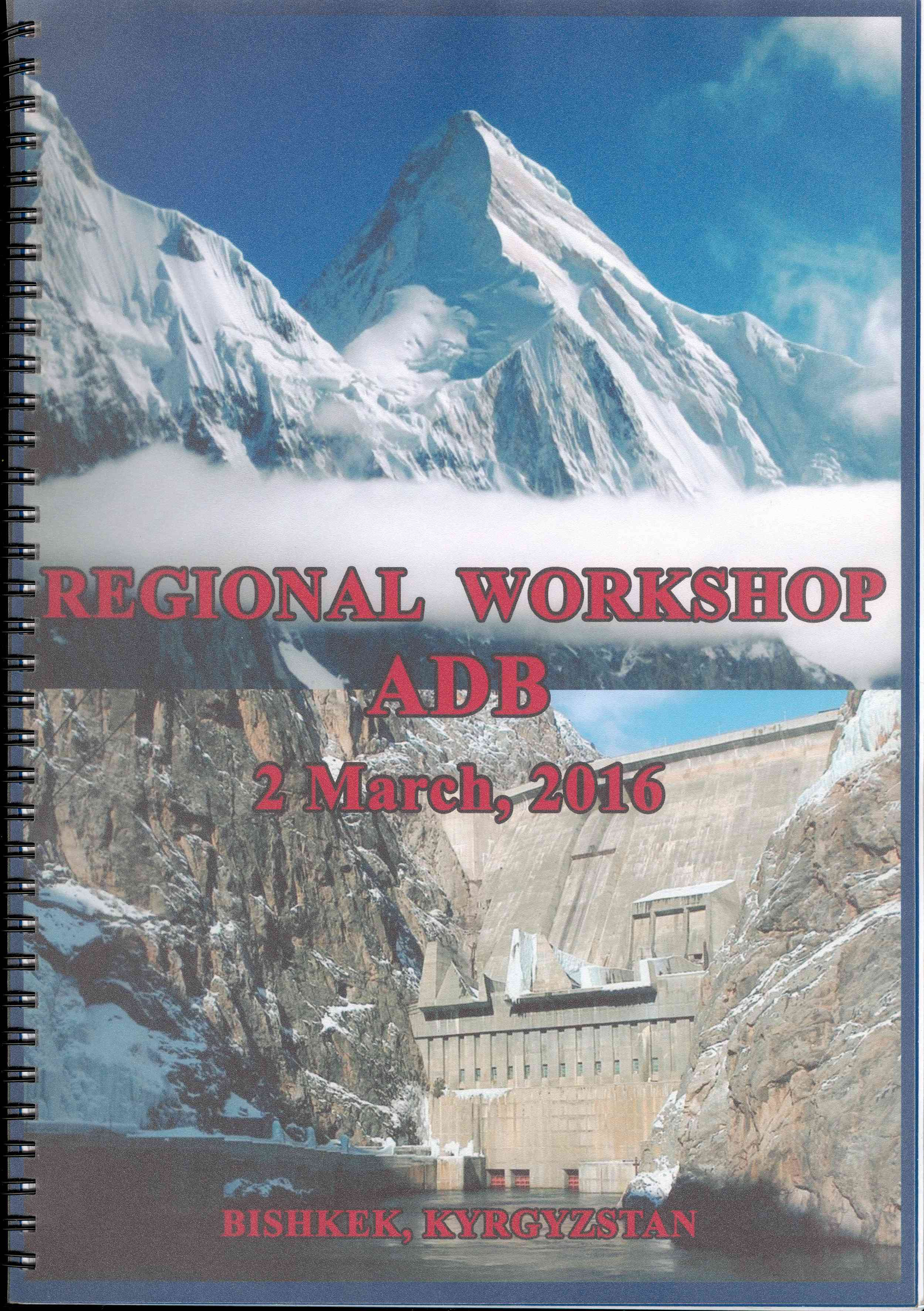 Обложка Regional workshop ADB 2 March, 2016