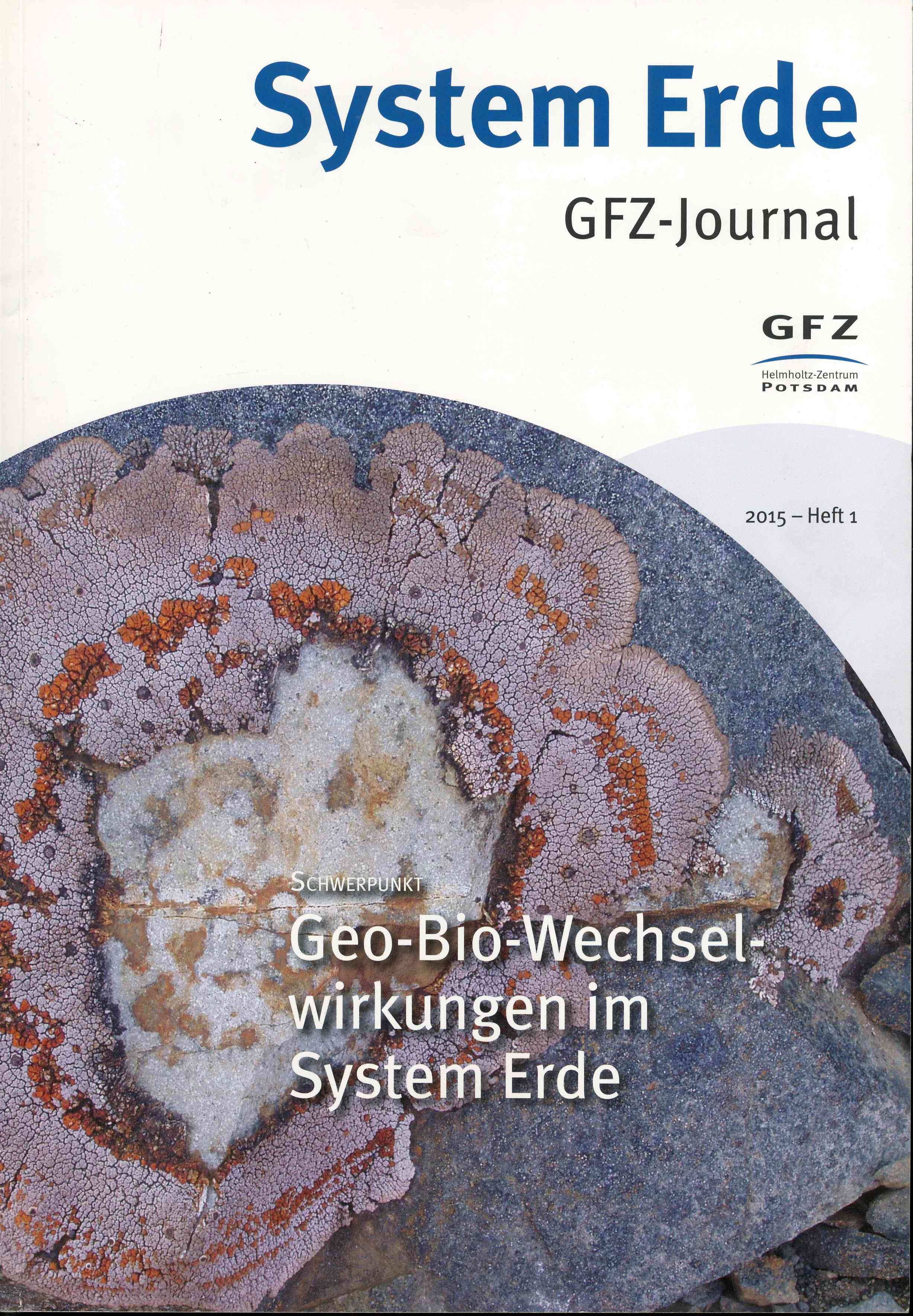 Обложка System Erde GFZ - journal